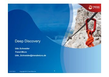 Deep Discovery - Trend Micro