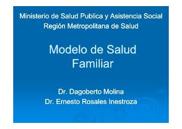 Modelo de Salud Modelo de Salud Familiar - Prenatal