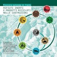 L'opuscolo di approfondimento (ottobre 2011) - Agenzia provinciale ...