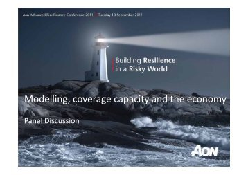 Modelling, coverage capacity and the economy - Aon Australia