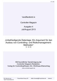 """""""Unbefriedigende Datenlage: Ein Argument für den Ausbau von ..."""