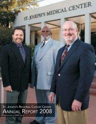 ANNUAL REPORT 2008 - St. Joseph's Medical Center