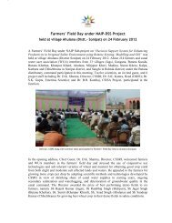 Farmers' Field Day under NAIP-DSS Project