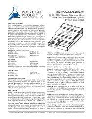 Polycoat-Aquatight - Polycoat Products
