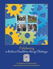 2011-12 Annual Report - Lower Moreland Township School District