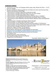 Indien-Rajasthan Rundreise - Reisebuero-sachsenforum.de