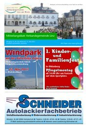Ausgabe Nr. 20 vom 15.05.2013 - Verbandsgemeindeverwaltung ...