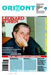 16-17 20 21 SEPTEMBRIE 2008 - BUCURE{TI 4-5 ... - revistaorizont.ro