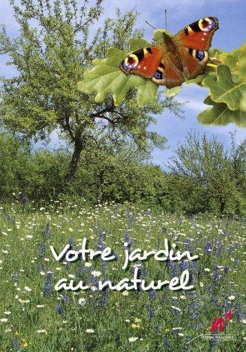 Votre jardin au naturel - Portail environnement de Wallonie