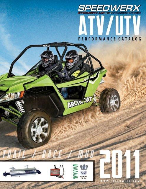NEW SUZUKI ATV QUIET EXHAUST MUFFLER 250 300 QUADRUNNER KINGQUAD 4x4 2x4