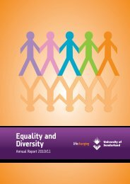 Equality & Diversity Annual Report 2010-11 - DocuShare ...