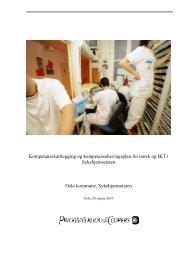 Rapporten - Sykehjemsetaten