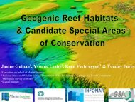 Geogenic Reefs & candidate SACs. - Geological Survey of Ireland