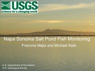Item 3 - Fish Monitoring - Napa/Sonoma Marsh Restoration Project