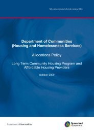 Allocations Policy Long Term Community Housing Program and ...