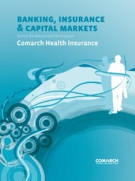 banking, insurance & capital markets - Comarch