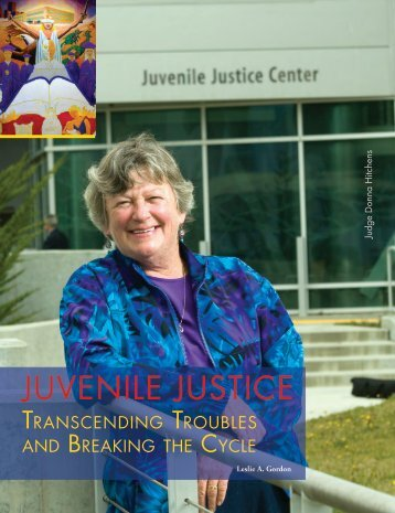 JUVENILE JUSTICE - The Bar Association of San Francisco