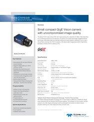 Genie C1410 Datasheet - Teledyne DALSA Inc