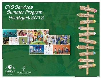 CYS Services Summer Program Stu gart 2012 - Home-STUTTGART ...
