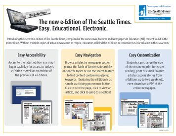 The new e-Edition of The Seattle Times. Easy ... - NWsource