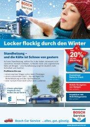 Locker flockig durch den Winter - BOSCH Car Service Zitta KFZ