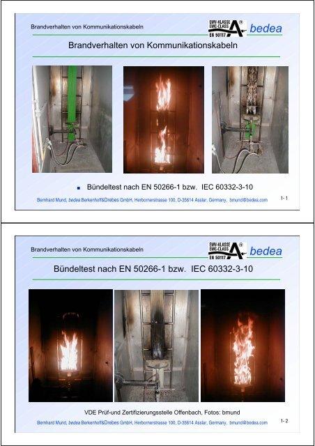 Brandverhalten, KDG 2006 - Bmund.de