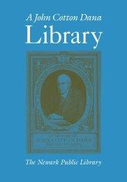 A John Cotton Dana - Newark Public Library