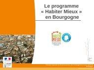 Le programme « Habiter Mieux » en Bourgogne