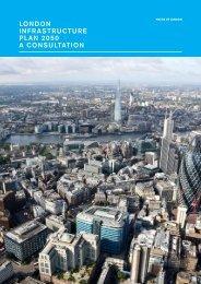 London Infrastructure Plan 2050 Consultation