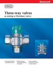 Three-way valves - Merx AS