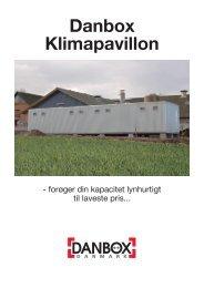 Danbox Klimapavillon - WebKontrol V.5 | Bakuri A/S