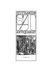 1959 2009 - Stuttgarter Antiquariat