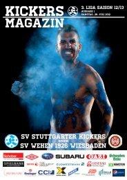 01 Kickers-Magazin SV Wehen Wiesbaden (pdf mit