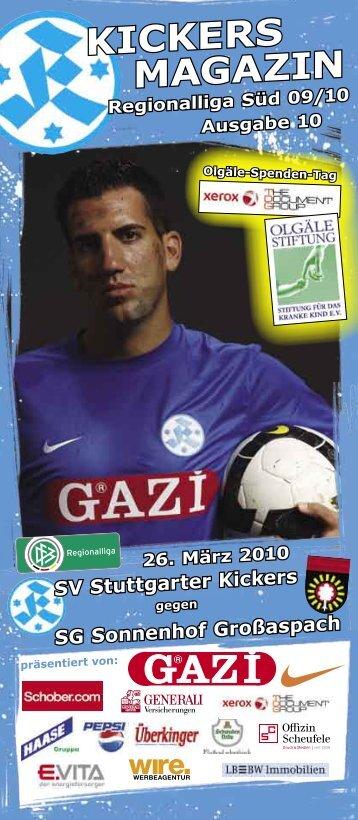 pdf mit - SV Stuttgarter Kickers