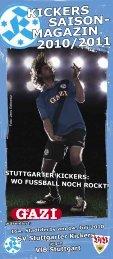 Kickers-Saison-Magazin - Derby VfB Stuttgart (pdf mit