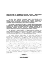 decreto sobre el régimen del personal docente e investigador ...