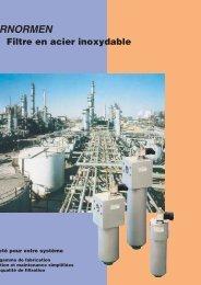 Filtre en acier inoxydable - Fluidtech