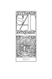 Reformation - Stuttgarter Antiquariat