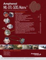 MIL-DTL-5015, Matrix ® - Amphenol Aerospace