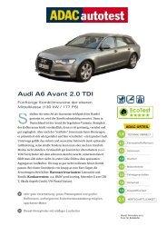Audi A6 Avant 2.0 TDI