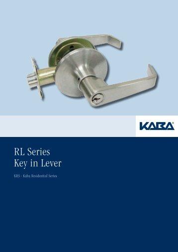 KRS Leversets Brochure - Kaba Australia