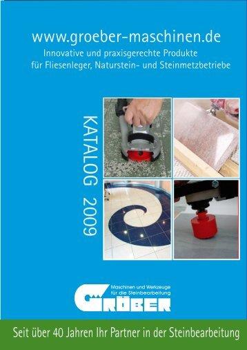Trockenanwendung - Gröber - Maschinen und Werkzeuge für die ...