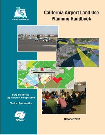California Airport Land Use Planning Handbook - San Diego ...