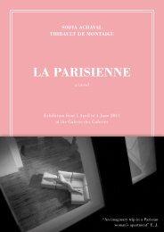 LA PArISIENNE - Galerie des Galeries