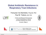 Resistance - Cellular and Molecular Pharmacology