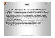 Zeiger - Walddobler.de