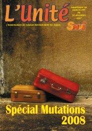 Le dossier mutations 2008 - Solidaires Finances publiques