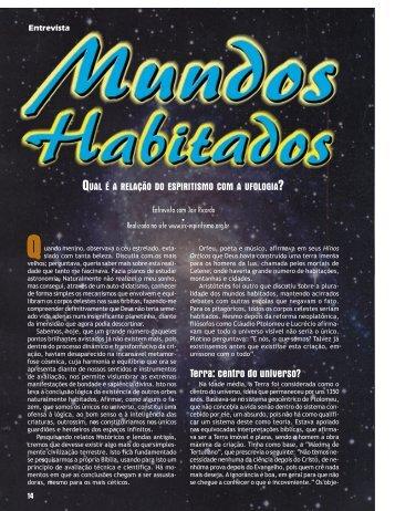 Mundos habitados - Revista Cristã de Espiritismo