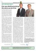 1Meine Zeitung – Meine Bank 74. Ausgabe 12/2009 Meine Zeitung ... - Seite 2