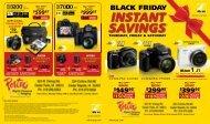 Download Porter's Black Friday Flyer - Porters Camera Store